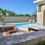 27 Fire Pit And Solar Heated Pool